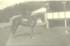 Herb Andrews riding Sundown